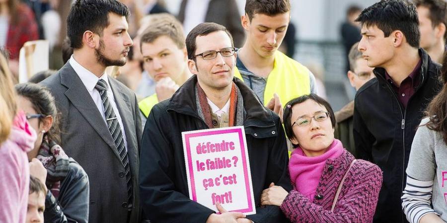 Actualite Actualite Taxé aussi d'homophobie, Stéphane Mercier, le prof suspendu par l'UCL, se défend