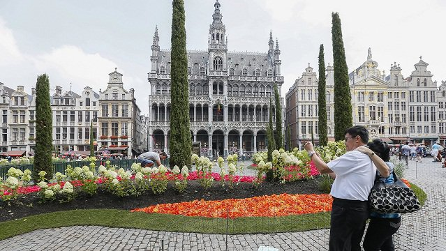 culture Culture Que faire à Bruxelles ce week-end: Le Flowertime envahit le centre de Bruxelles