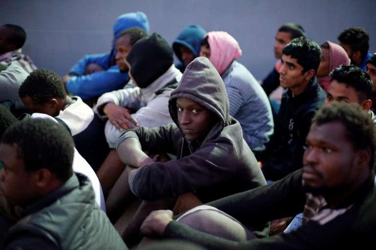 Actualite Actualite Les migrants vendus aux enchères comme esclaves