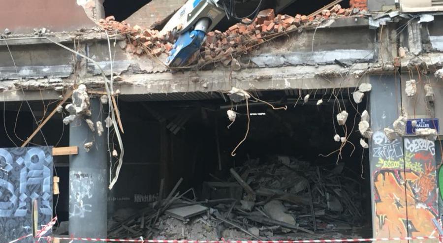 Actualite Actualite Bruxelles : la démolition du Parking 58 a commencé