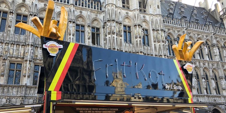 culture Culture Le fritkot Vandermeulen fête ses 130 ans avec une tonne de frites gratuites