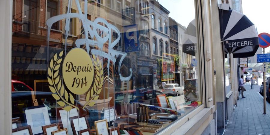 Tourisme    Tourisme    Voici la rue la plus taguée de Bruxelles