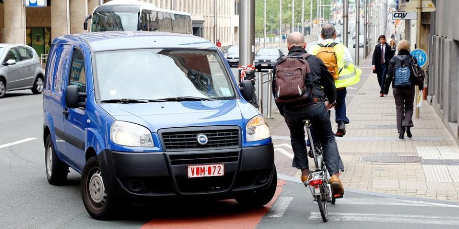 Actualite Actualite Le manque d'infrastructures à Bruxelles dénoncé par les cyclistes