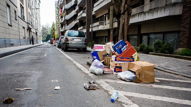 Actualite Actualite A Bruxelles, la propreté des rues s'améliore mais des communes restent SALES