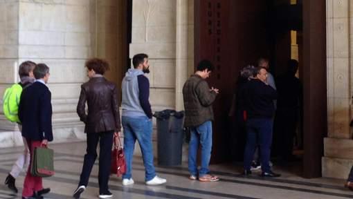 Actualite Actualite La nouvelle entrée pour le public inaugurée au Palais de justice de Bruxelles