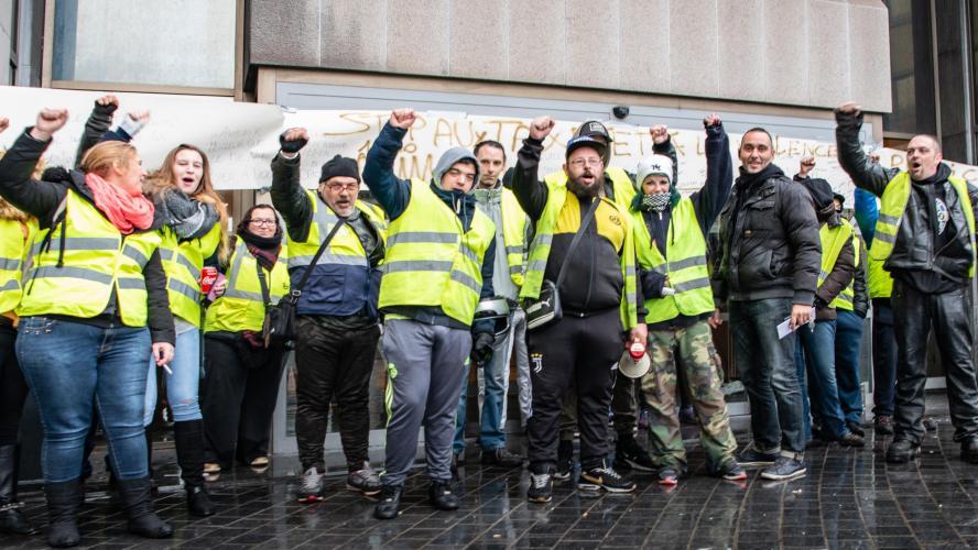 Actualite Actualite Un rassemblement de «gilets jaunes» se tiendra à Bruxelles le 30 novembre