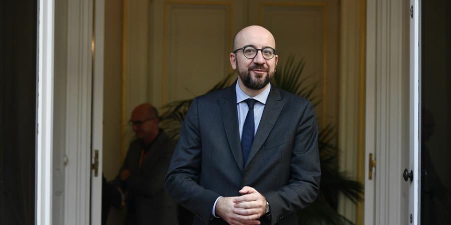 """Actualite Actualite Charles Michel reçoit une délégation de """"gilets jaunes"""""""