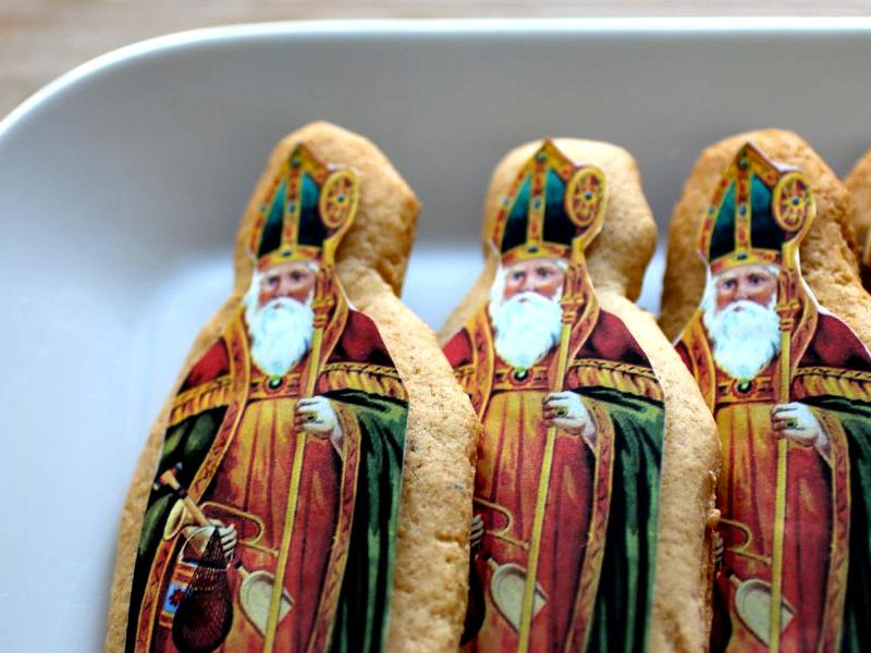 culture Culture Nous vous souhaitons,  Une bonne fête de la Saint Nicolas