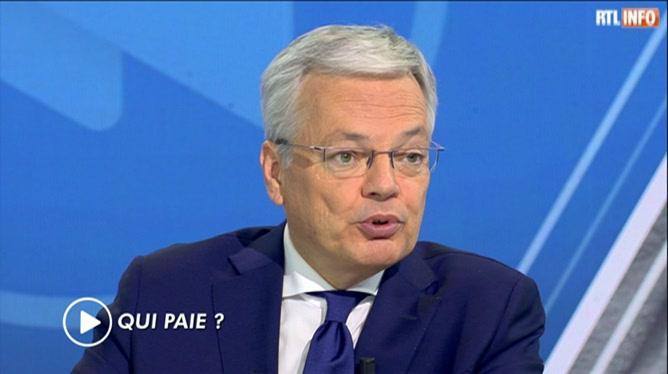 Actualite Actualite Didier Reynders a une idée pour éliminer la voiture à Bruxelles (vidéo)