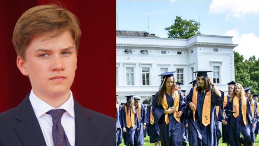 Actualite Actualite Le prince Gabriel entre aujourd'hui dans une école privée qui coûte 40.000€ l'année: le fils du roi Philippe devra gagner sa vie plus tard!