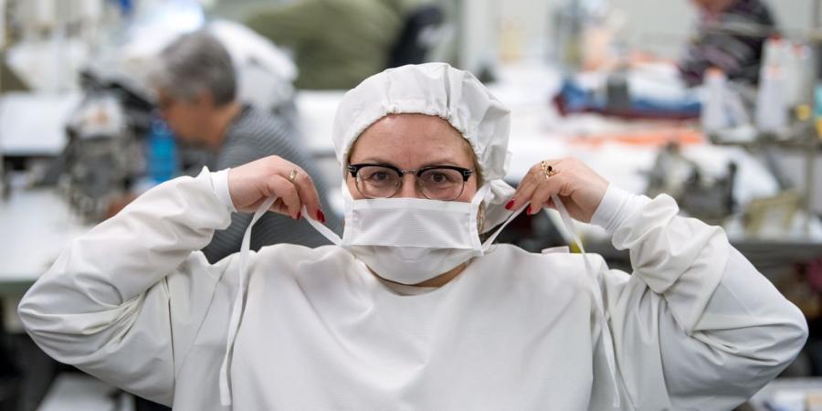 """Actualite Actualite 100.000 personnes présentent des symptômes grippaux en Belgique : """"Vraisemblablement le Covid-19"""""""