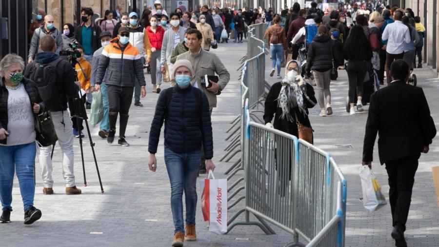 Actualite Actualite Bruxelles: les nouvelles mesures de lutte contre le coronavirus entrent en application ce lundi